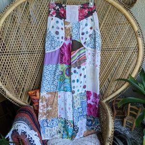 Jayli S Patchwork Hippie Pants Bohemian Loungewear